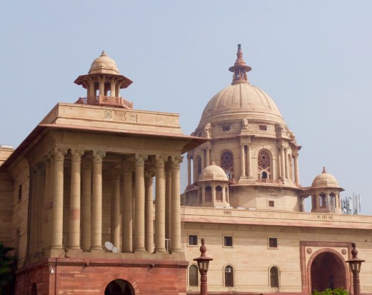 Indian-Parliament-buildings-Delhi