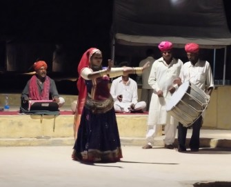 Rajasthani-dancer