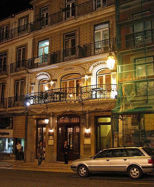 Restaurante Tavares / Wiki Commons