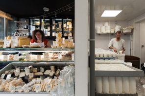 Paris' Only Cheesemaker: La Laiterie de Paris