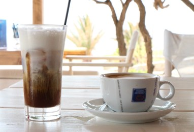 Baba Houlakia cafe detail