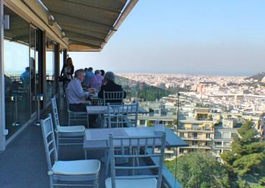 St George breakfast terrace
