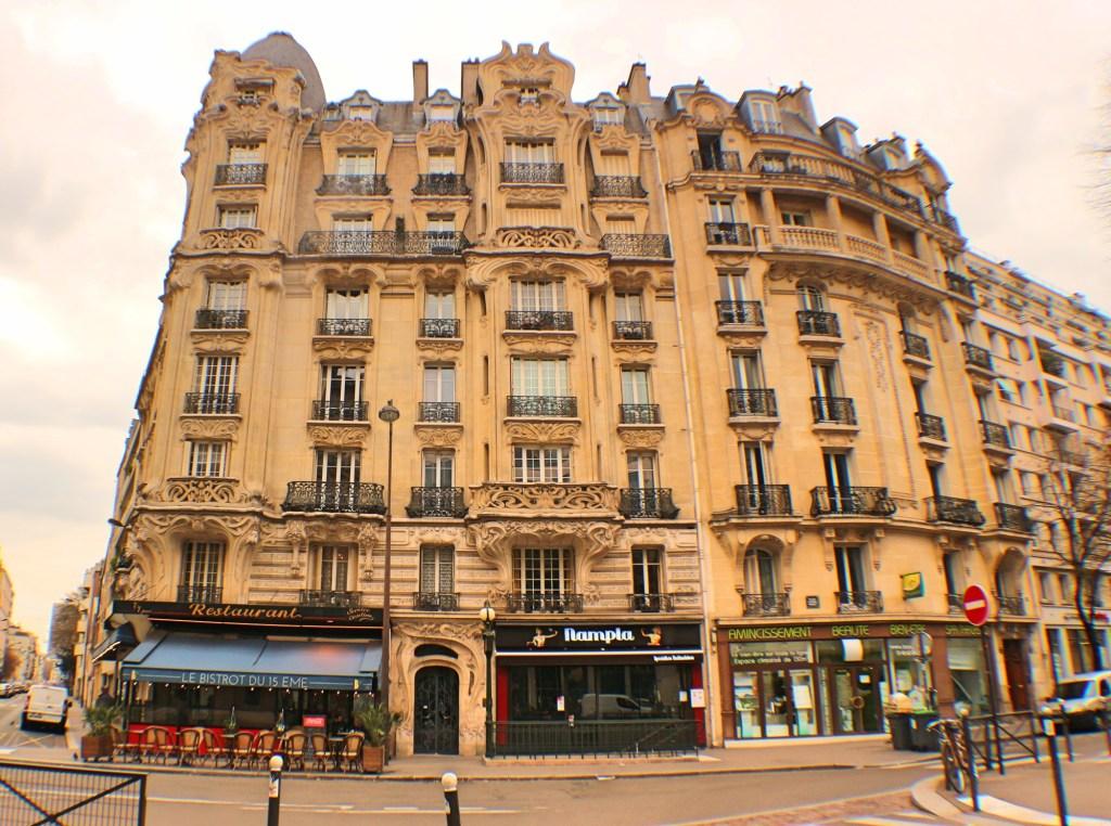 Art Nouveau Building 75017