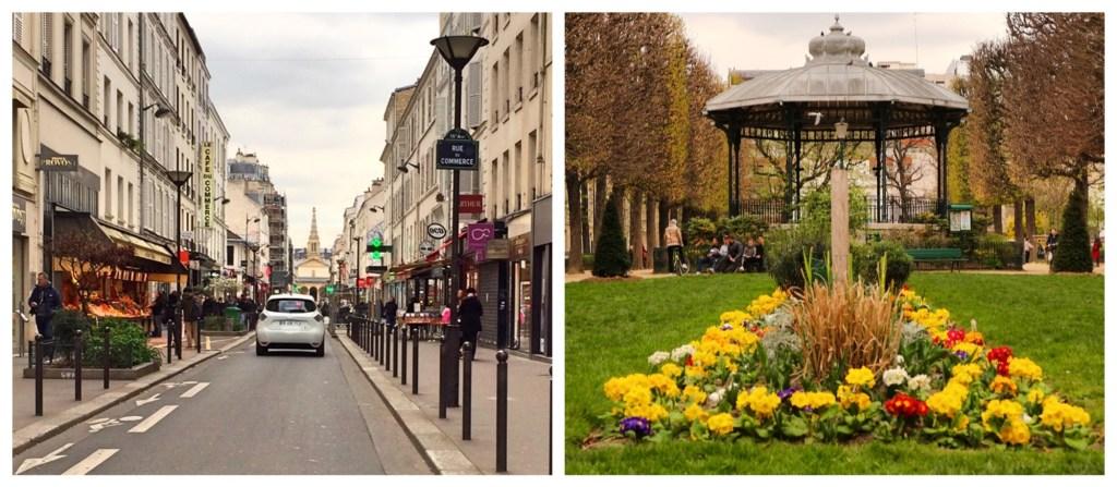 Rue du Commerce Market Street 75015