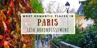 Romantic 18th arrondissement