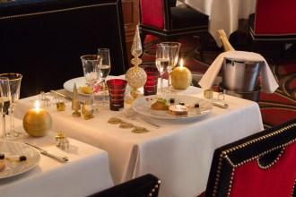 Fouquet's restaurant Paris Christimas