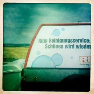 Reinigung on tour