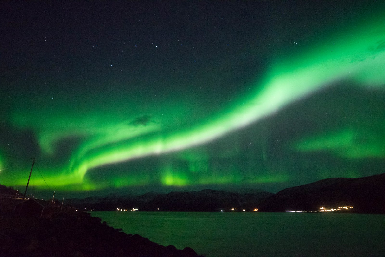 Seeing the Northern Lights for the First Time