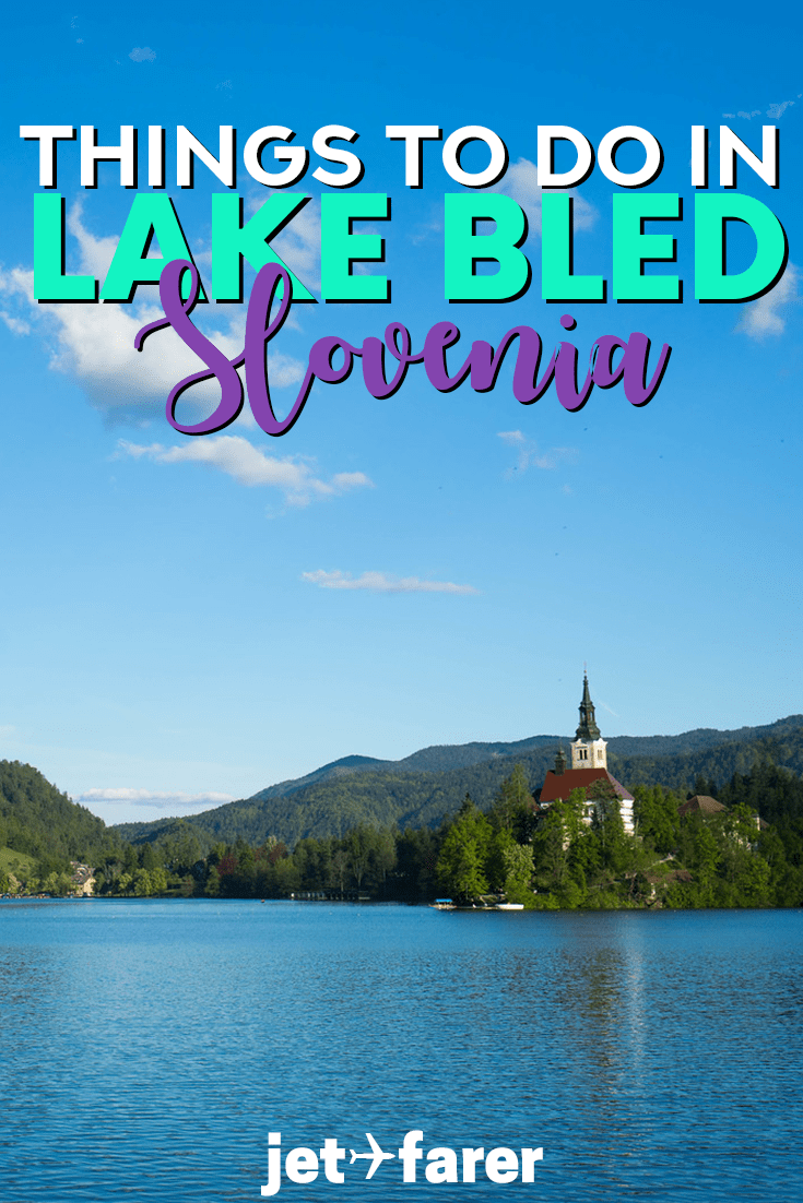 Traveling to Lake Bled, #Slovenia? Click through to learn about 12 amazing things to do in Lake Bled, no matter what time of year you visit! #Europe | things to do in Slovenia | Slovenia travel | Slovenia food | Slovenia skiing | Slovenia Bled | Slovenia travel national parks | Slovenia travel tips | Slovenia road trips | Europe weekend getaways | Europe weekend trip ideas | Europe travel |