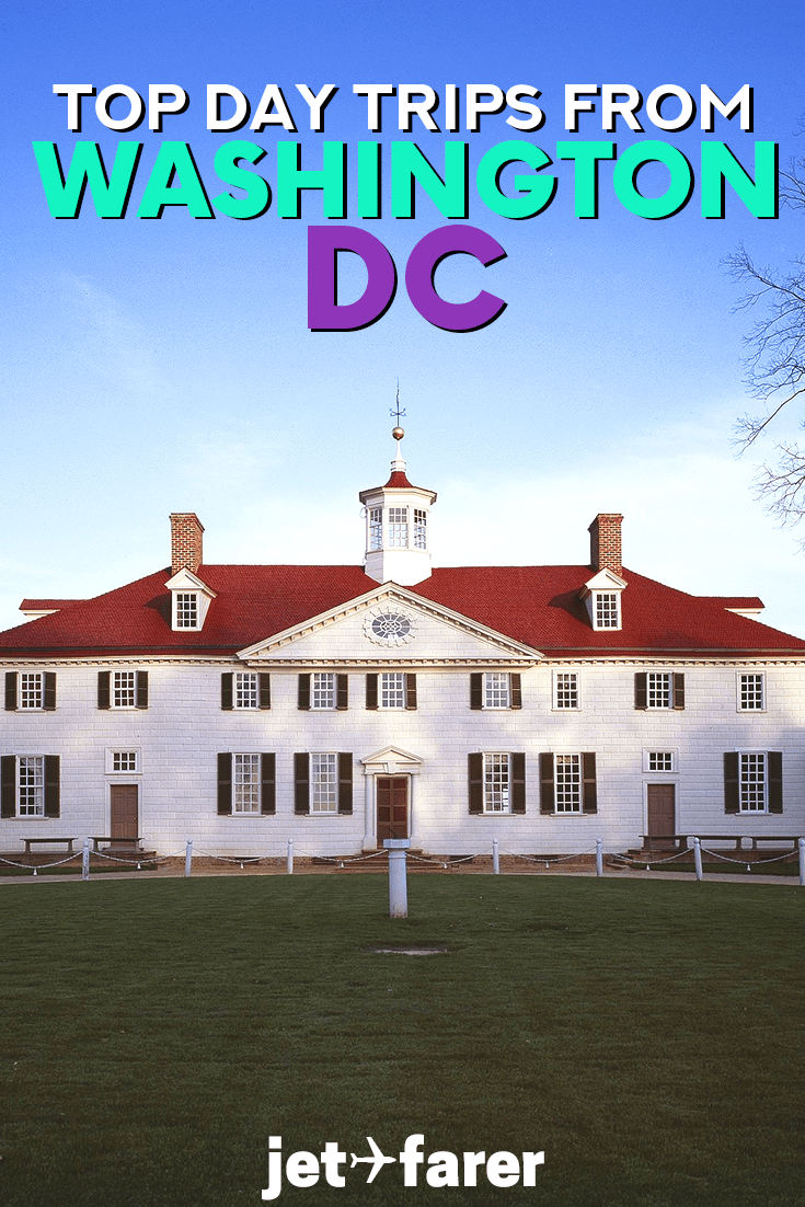 Hoping to escape the city for a bit? Check out our list of the best day trips from Washington DC! #UnitedStates | Washington DC travel | day trips from Washington DC | things to do in Washington DC | day trips on the East Coast | things to do in Virginia | Maryland | West Virginia | Pennsylvania | Delaware | history day trips | hiking | weekend trip ideas | USA travel