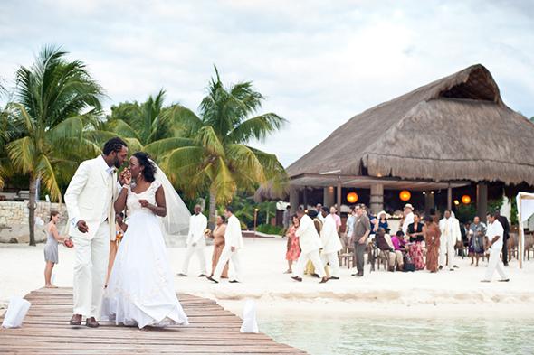 Beautiful Beach Wedding On Isla Mujeres, Mexico
