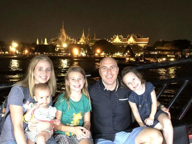 Why you should travel as a family. Bangkok Thailand