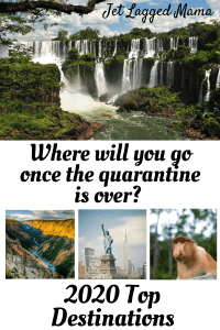 Pinterest image for top destinations to visit in 2020