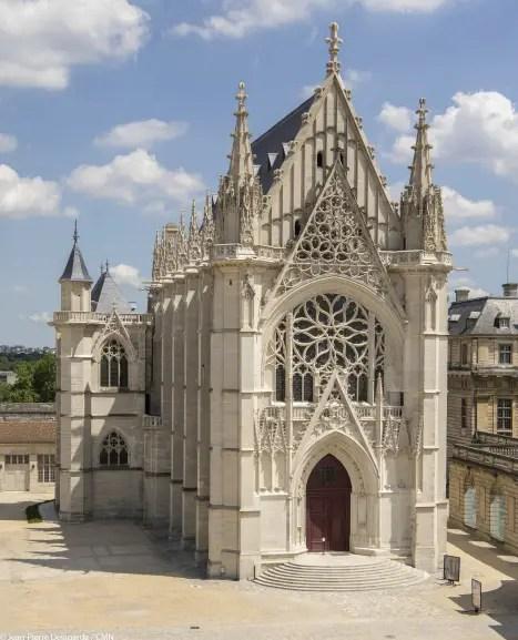 Saint Chapelle in Paris. Virtual vacation in Paris