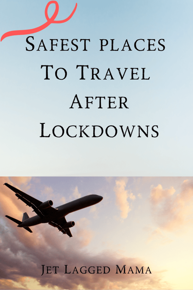 Safest places to travel after coronavirus