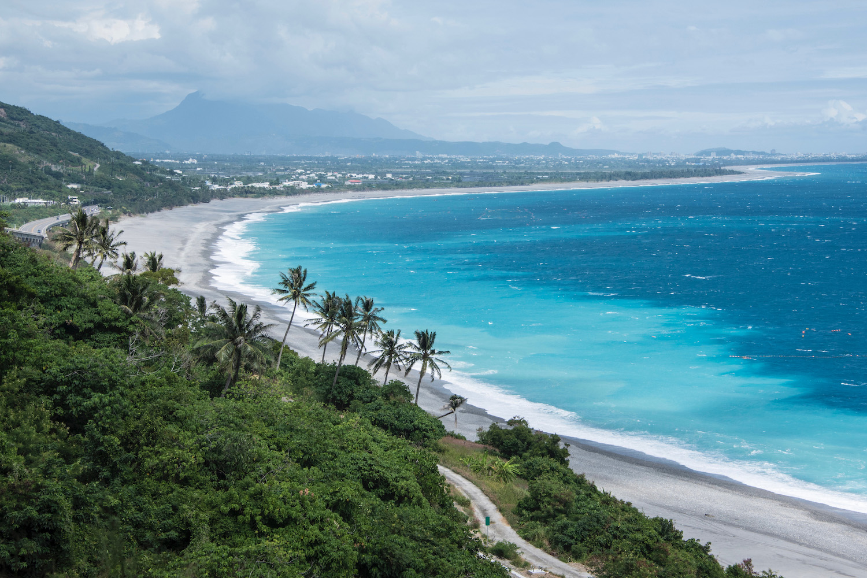 Taimali beach in Taiwan