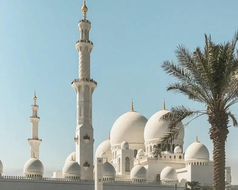 Sheik Zayeed Mosque in Abu Dhabi