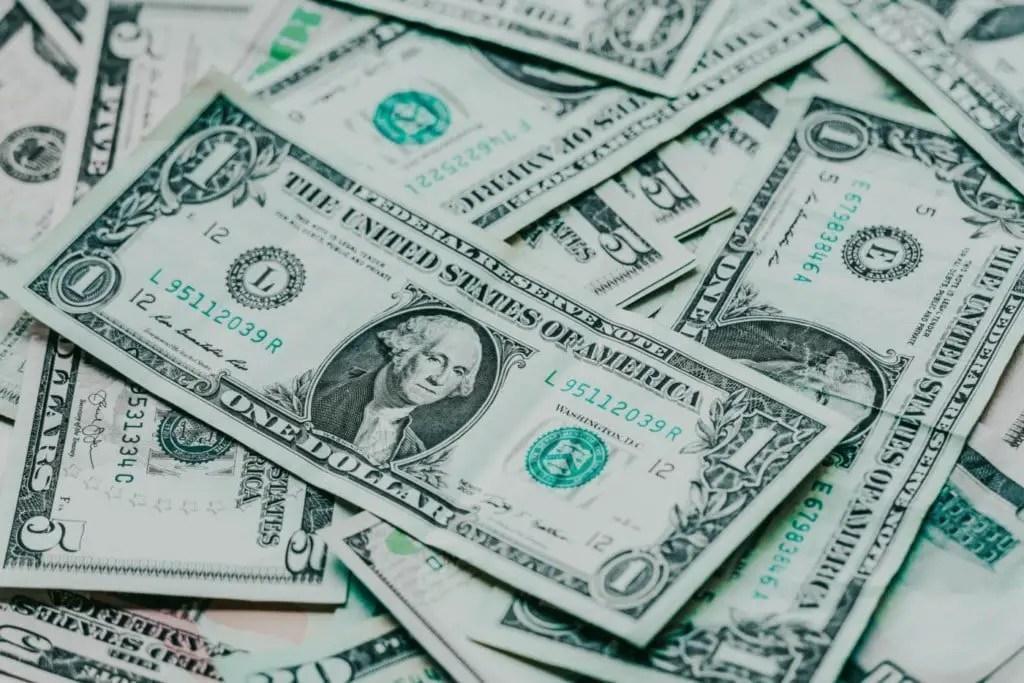 picture of american dollar bills