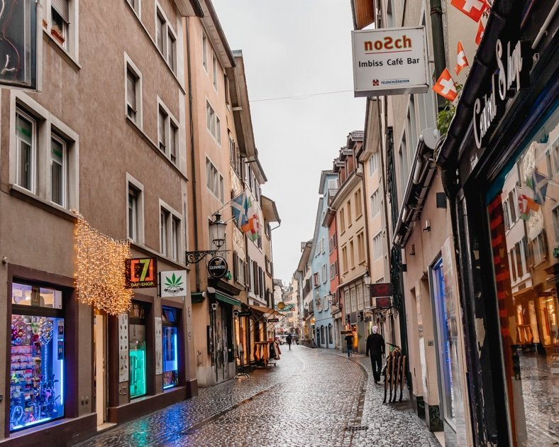 Picture of Zurich's Old Town