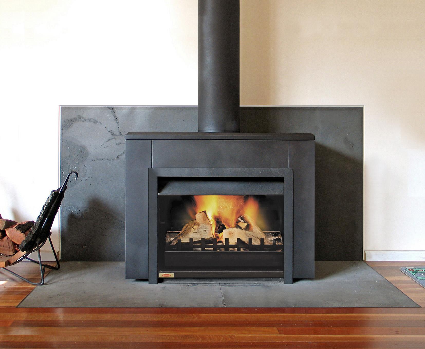 Universal Freestanding Wood Fireplace