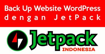 Back Up Website WordPress dengan JetPack