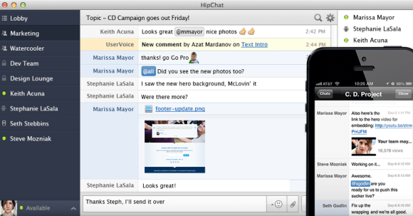 Hipchat - Busy Season productivity App