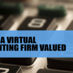 How is a virtual accounting firm valued