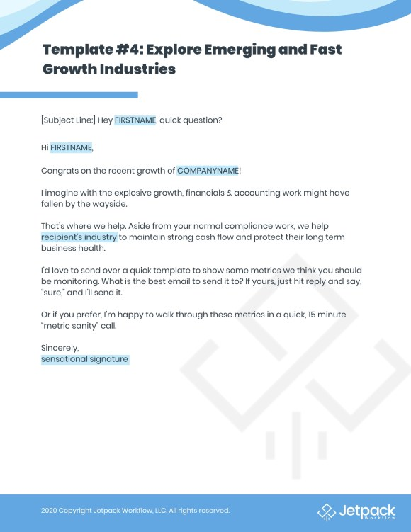 recession proof business email template 4