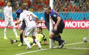 スペイン vs オランダ ワールドカップ2014