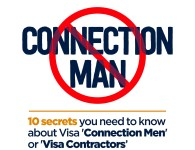 10 Secrets You Need To Know About Visa 'Connection Men' or 'Visa Contractors'