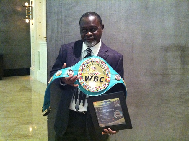WBC honours Azumah Nelson on his 60th birthday