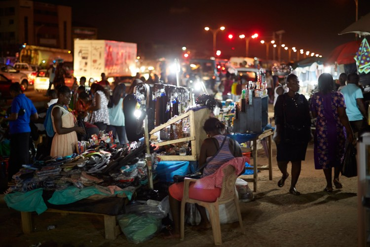 The Lapaz Night Market