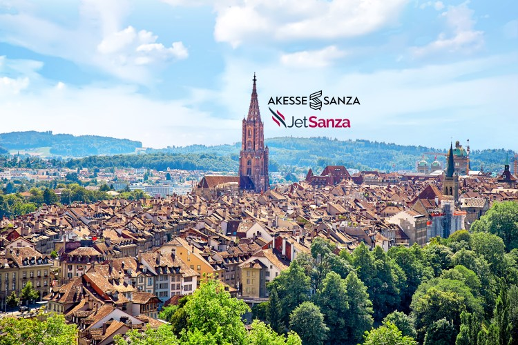 Panoramic view of Berne city, Switzerland