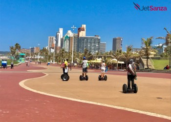 Segways on Durban beachfront