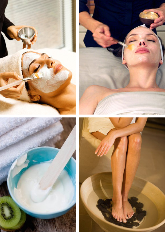 Beauty Treatments and Facials at SPA