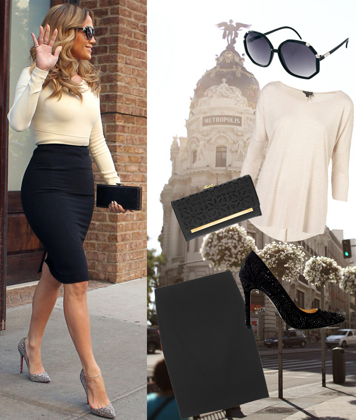 Celebrity Fashion Style Jennifer Lopez