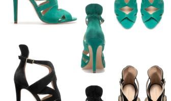 Zara strappy high heels