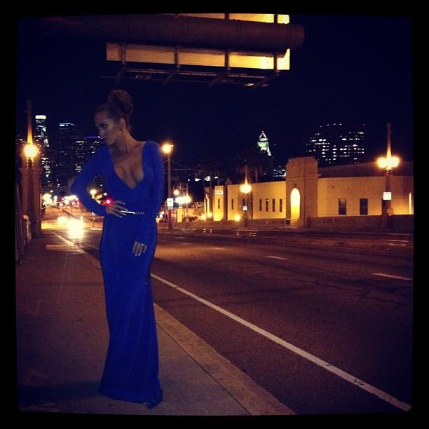 Klein Blue Fashion outfit