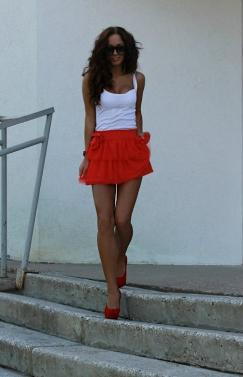 Summer fashion outfit