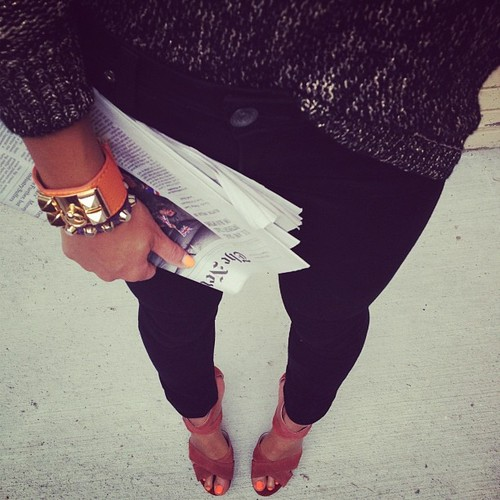 Perfect Monday outfit & streetstyle