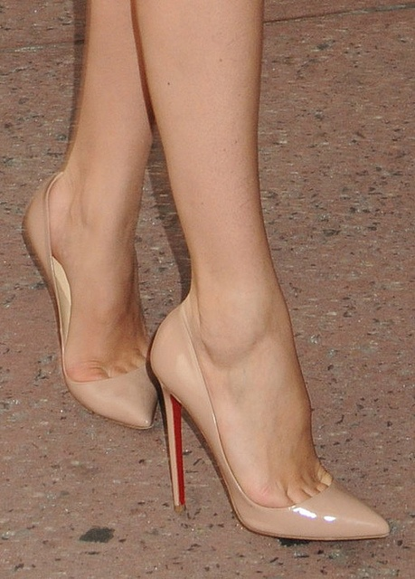 Skin colored Heels
