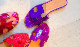 Hermés Oran Slippers