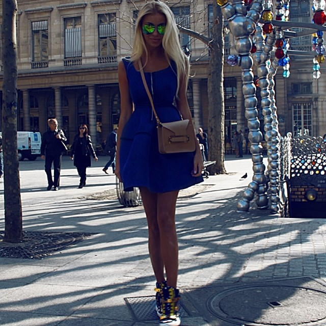 Klein Blue Outfit