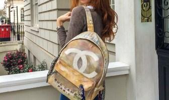 Chanel Art School Backpack