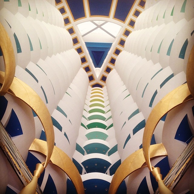 The Burj Al Arab Hotel Dubai