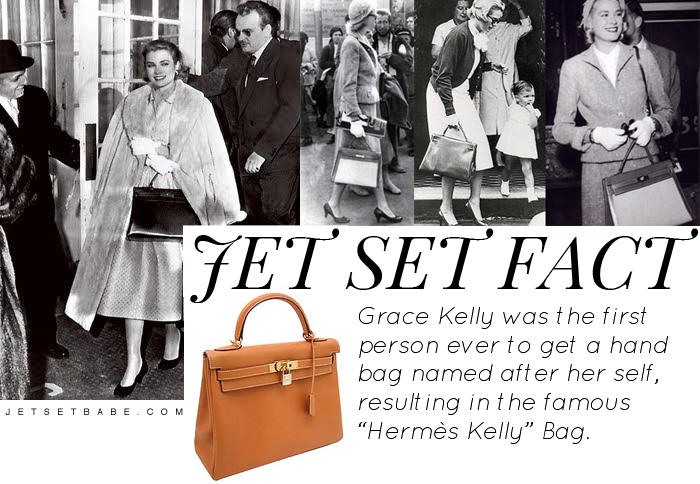 Grace Kelly Hermes Kelly Hand Bag Muse