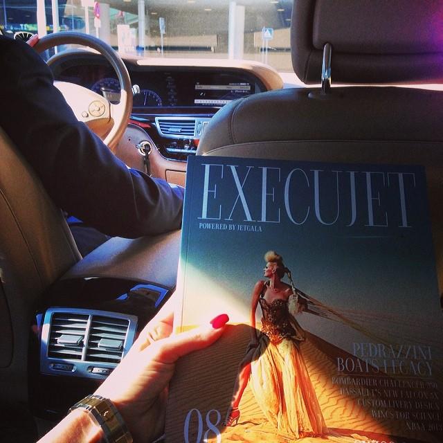Luxury Blog Jet set Babe