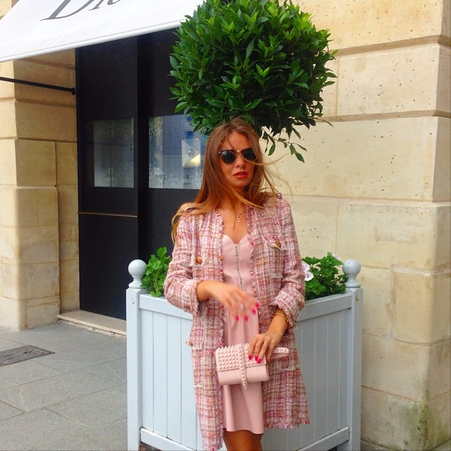 Pastel Pink Fashion Outfit