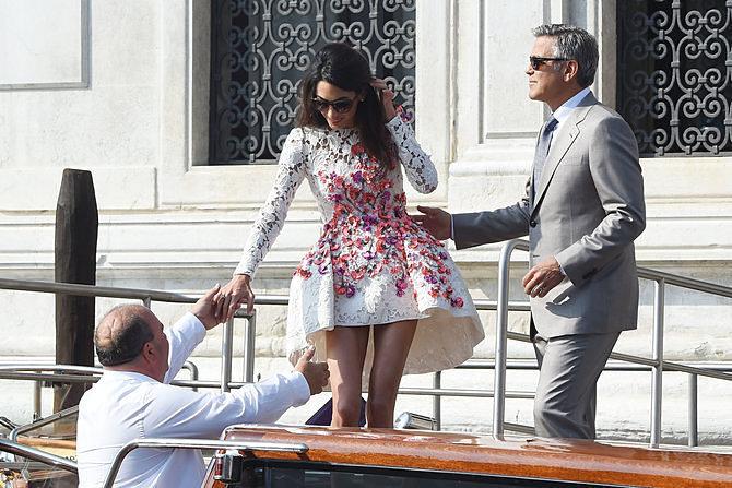 Amal Alamuddin & George Clooney Story