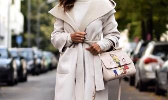 Winter Coat With Belt
